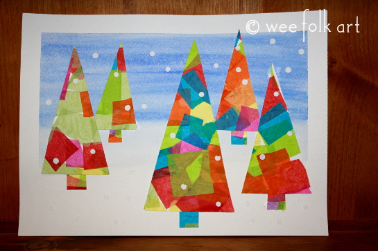 Christmas Painting Ideas Toddlers : Homemade christmas cards for kids to make ur kid s world