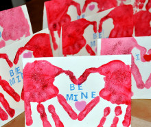 valentine cards craft
