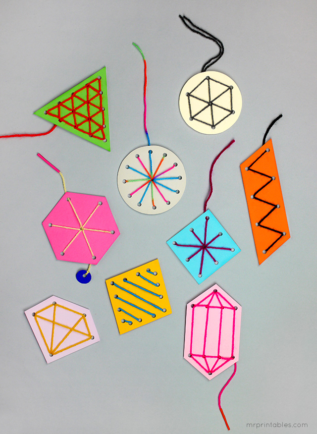 easy sewing craft ornaments for kids